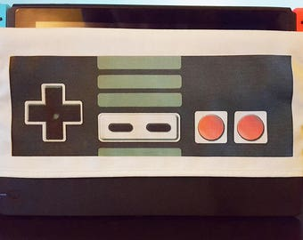 Switch Dock Cover Retro Controller NES Classic Style