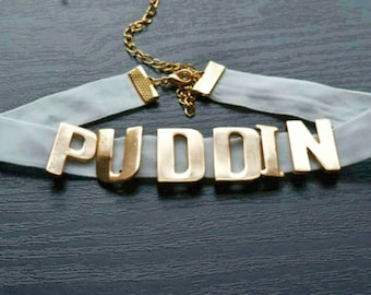 Suicide Squad Harley Quinn Puddin Cosplay Necklace