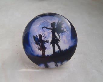Moon Faerie Pin