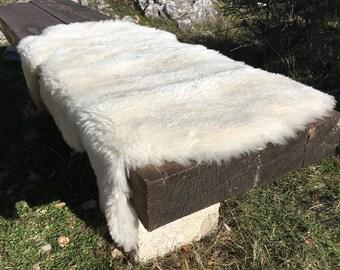 Big genuine Sheepskin Rug from Bosnia / 74
