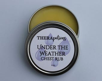 Under the Weather Chest Rub