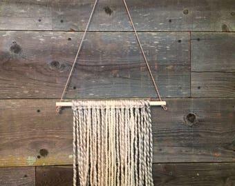 Yarn wall hanging (SALE 5% OFF!!)
