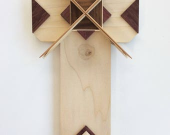 Wooden Cross Unique, One Of A Kind