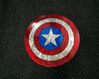 Captain America Metal Sign