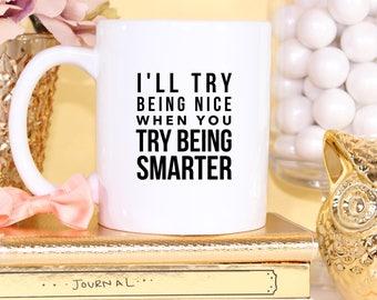 Sarcastic Mug, Funny Mug, Coffee Mug, Funny Coffee Mug, Sarcastic Gifts, Gifts For Her, Gifts For Him, Funny Gifts, Office Gift, teacher