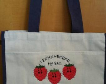 Rasberry Bag