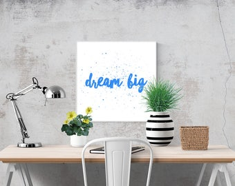 Wall Art Prints Printable Art Printables Digital Prints Poster Digital Download Best Selling Items Dream Big