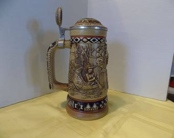 "Avon Limited Edition ""Indians of the American Frontier Stein"""