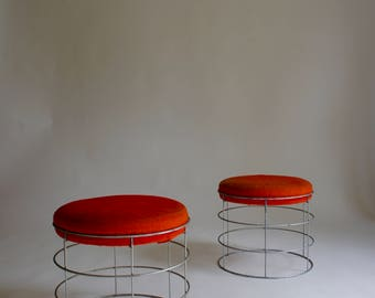 1950's Wire Stools by Verner Panton