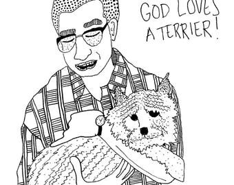 "Eugene Levy/Gerry Fleck in ""Best in Show"" Print"