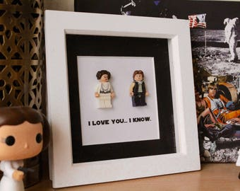 I Love You... I Know. (Star Wars, Lego, Valentine's Day, Couples Gift, Wedding Gift)