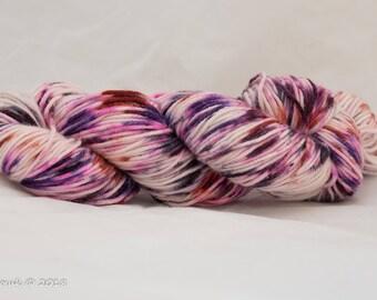 Jan-ewe-ry Speckles Hand Dyed Merino Sparkle DK Yarn