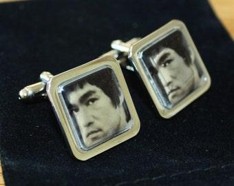 Bruce Lee cufflinks