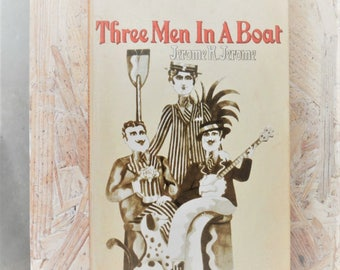 Three Men in a Boat - 1968 - Jerome K. Jerome -  Second-hand Penguin Paperback books