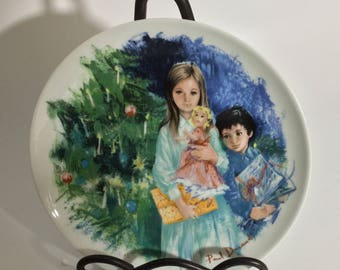 """Paul Durand's """"Cecile Et Raoul"""" Collector's Plate"""