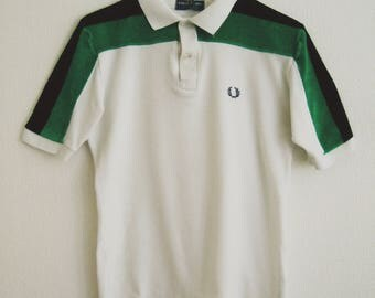 Rare Vintage Fred Perry Polo Shirt