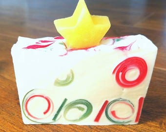 NOW 40% OFF!!!*Christmas Star Soap*