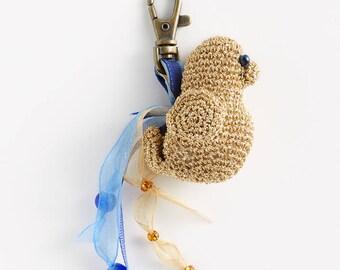 Keychain: amigurumi