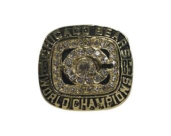 Chicago Bears 1985 Ring William Perry Super Bowl XX 20 World Champions The Refrigerator Fridge 18-1 Championship Gift Jewelry