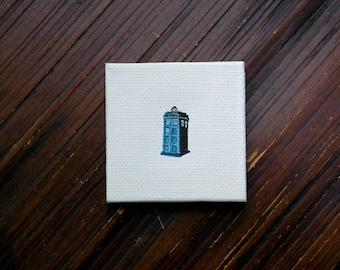 Tardis Miniature Painting