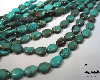 Natural Turquoise pear beads 14x18mm manufacture offers