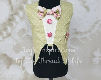 English Tea Party Vest