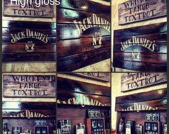 Jack Daniels concealed liquor box