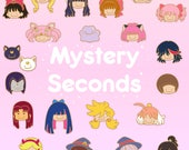 Ditto x Magical Girl Series Mystery Seconds Enamel Pin