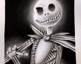 Jack Skellington Painting