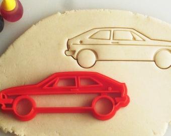 VW Volkswagen Scirocco Mk1 Cookie Cutters