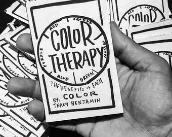Color Therapy Zine