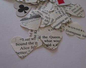 Alice in Wonderland Confetti | Paper Heart Confetti