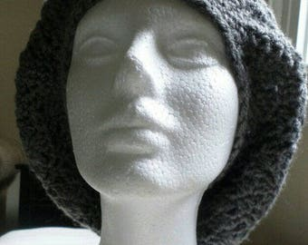 Slouchy Hat, Gray