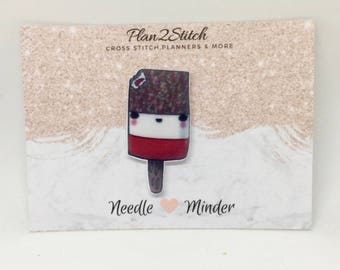 Cute Fab Ice Lolly  Needleminder/Magnet for Cross Stitch/Embroidery