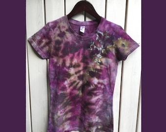 Purple Tie dye shirt for woman (FREE SHIPPING)