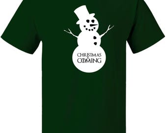 Game of Thrones Style Christmas is Coming T-Shirt