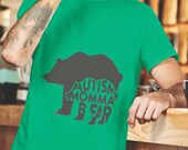 Autism Shirt Autism Awareness Momma Bear Papa Bear