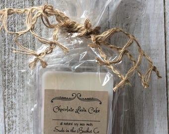 Chocolate Lava Cake Soy Wax Melt / Scented Soy Wax Melt/ Farmhouse Bakery All Natural Wax Melt