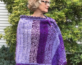 Prayer Shawl, Lilac & Lavender -- SOLD