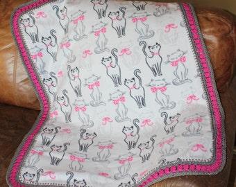 Kitty Cat Baby, Toddler Blanket