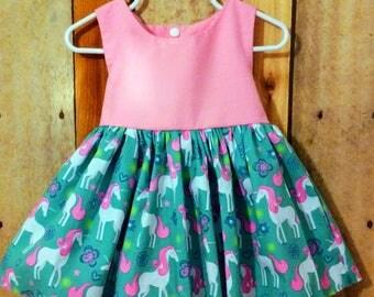 Unicorn dress,unicorn party dress,unicorn baby dress,unicorn birthday dress,first birthday dress,unicorn twirl dress,unicorn theme,birthday