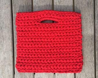 Blake - Crochet Square Handbag Clutch