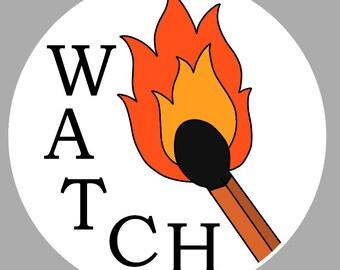 Billie Eilish Watch Sticker