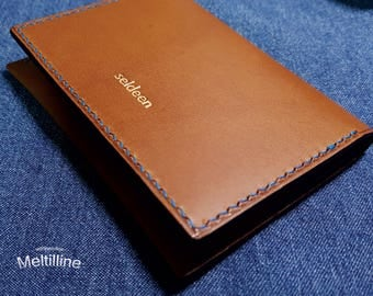 Card Case / 100% HandMade / Leather Wallet / Mini Wallet / Card Holder / Card Wallet / Business Card / OrderMade