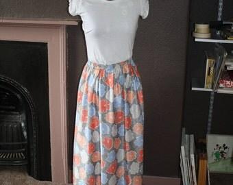 Hand made pure silk skirts
