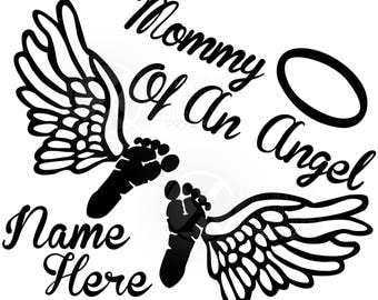 Mommy of an Angel Decal