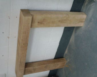 Oak Fire Surround - Thick Leg