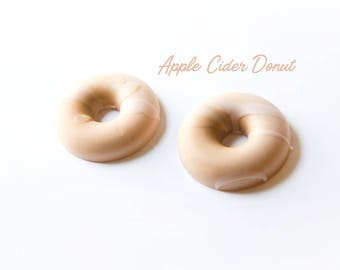 Apple Cider Donut Wax Melts (3.2 Oz.) - Donut Wax Melts - Hand Poured Wax - Handmade Wax Melts - Apple Cider - Donuts - Wax Creations - Wax