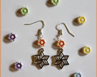 """""""FLOWERS earrings"""" DIY kit"""