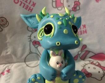 Hug A Bunny - Baby Dragon Figure